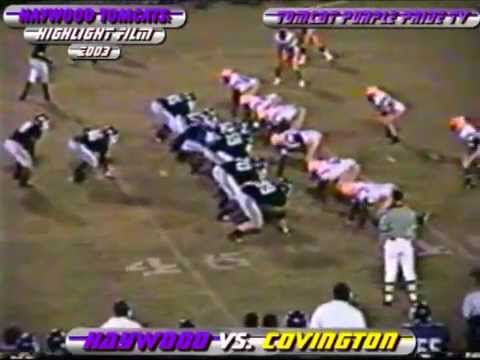Tomcat Football Flashback: 2004 Haywood Tomcats Highlight Film (Part 1)