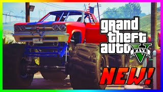 "GTA 5 FREE ""Cheval Marshall"" Monster Truck & Save $250,000! GTA 5 PS4 Gameplay Rare Cars! (GTA V)"