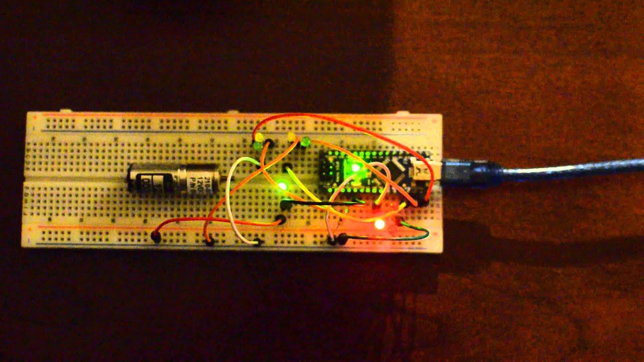 Arduino Nano 1/350 TOS Enterprise Lighting Board   YouTube