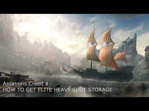 How to get Elite Heavy Shot Storage - Assassins Creed 4: Blackflag