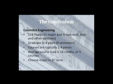 COLUMBIA 101 Webinar: Columbia Engineering Academics 6.25