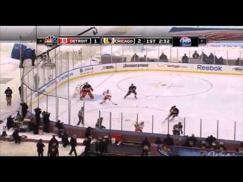 Chicago Blackhawks vs. Detroit Red Wings January 1st 2009