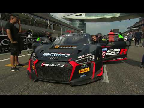 Round 8 – Full race, Shanghai International Circuit, China Audi R8 LMS Cup 2017