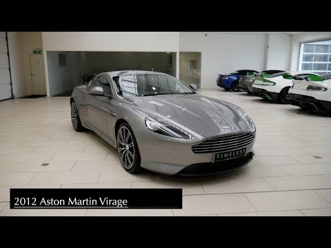 2012 Aston Martin Virage V12