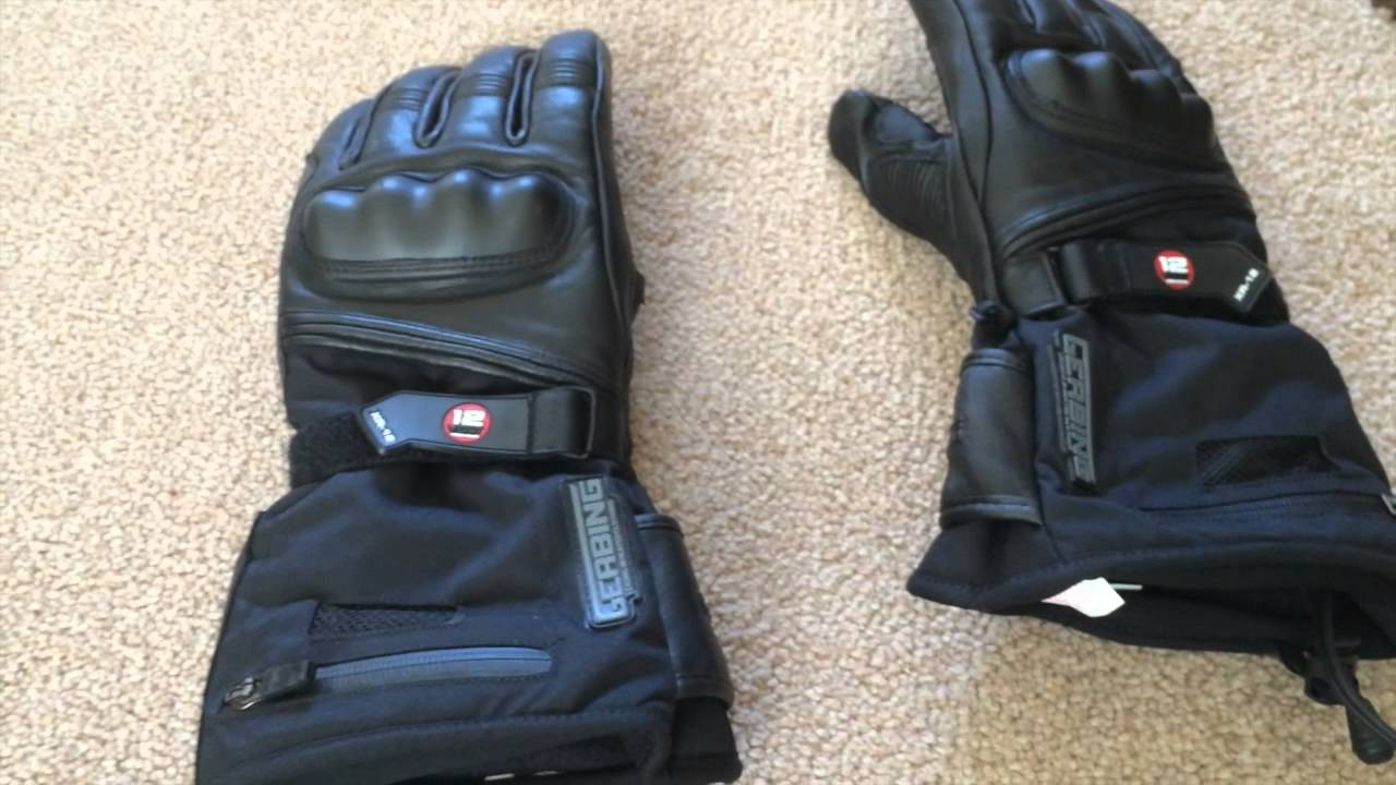 Gerbing Xr12 Heated Motorcycle Gloves Review Youtube