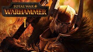 Total War: Warhammer - Wojownicy Chaosu #1 - Zło z Północy (Gameplay PL)