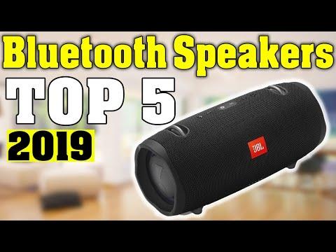 TOP 5: Best Bluetooth Speaker 2019