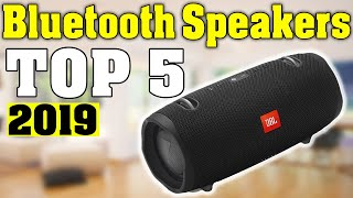 TOP 5: Best Bluetooth Speaker 2019