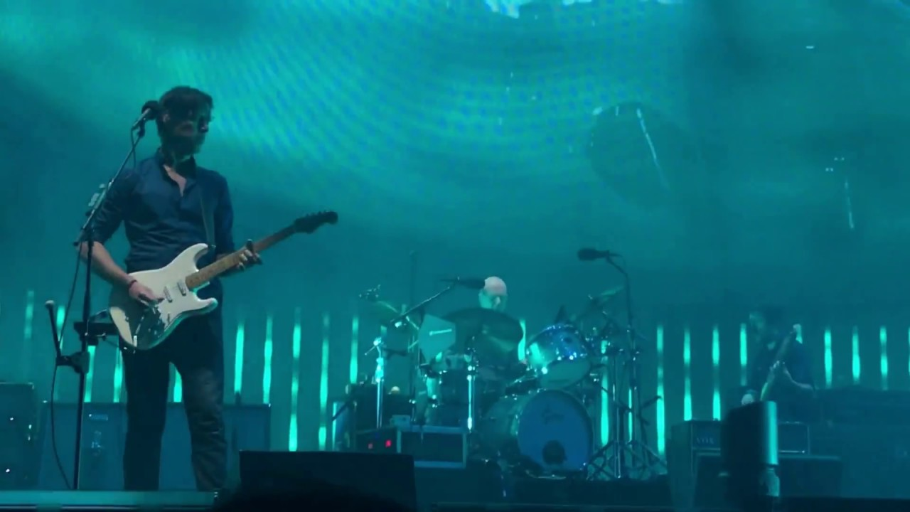 Radiohead Weird Fishes Arpeggio Miami March 30 2017