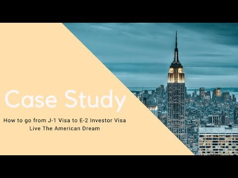 From F1 Student Visa to E2 Investor Visa - Case Study 🇺🇸✔️
