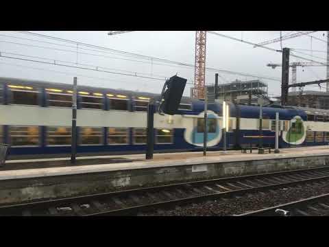 Arrivé des Rames 8825 et 8826 Ligne U à Versailles Chantiers