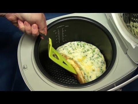 Как пожарить яйца в мультиварке