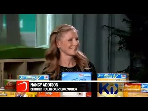Chef & Nutrition Expert Nancy Addison Talks About Sugar in Cereal