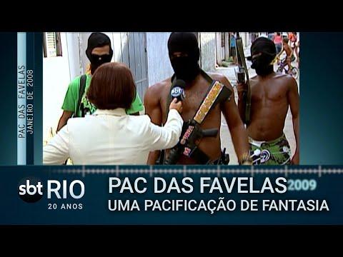SBT Rio 20 Anos: Mônica Puga Entrevista Traficantes Do Complexo Do Alemão