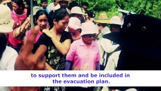 Disaster Risk Reduction -- Planning for disability inclusion