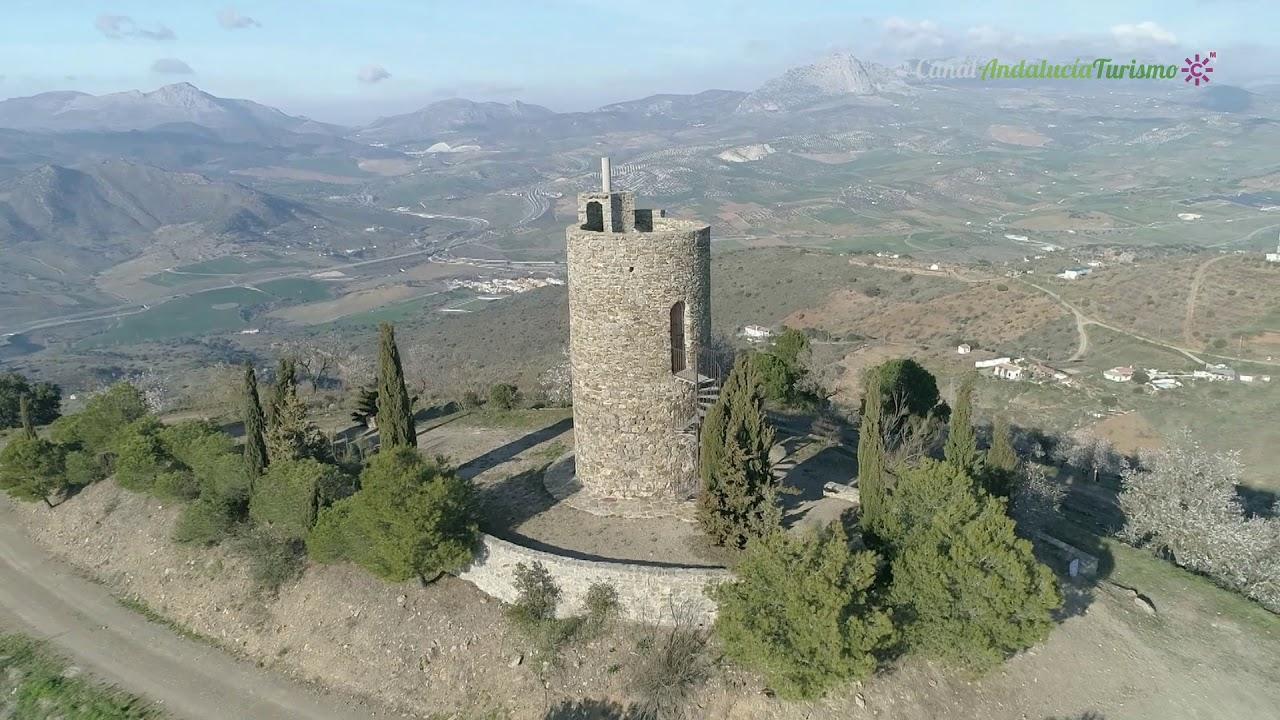 Torre Zambra y Peñas de Cabrera. Casabermeja, Málaga - YouTube