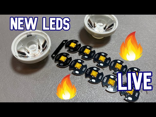 New LEDs, New Lenses [Demilight LIVE bonus stream]