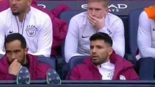 Man City vs Man Utd 2 3 English Commentary   2018