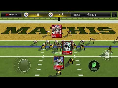 Madden mobile 18 Randall Cunningham gameplay