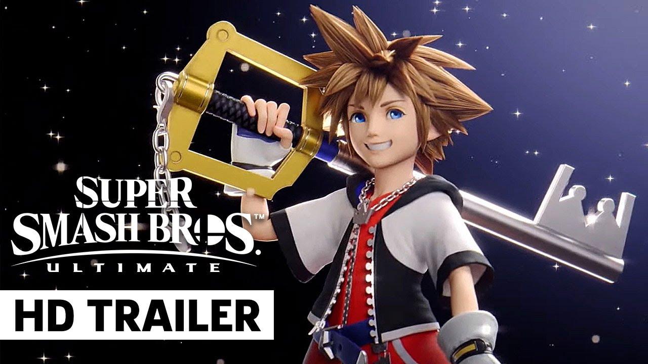 'Super Smash Bros. Ultimate's' final fighter is Sora from 'Kingdom ...