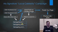 "Advanced Facebook Ads Strategy 2019 |  My ""Local Celebrity"" Facebook Campaign"
