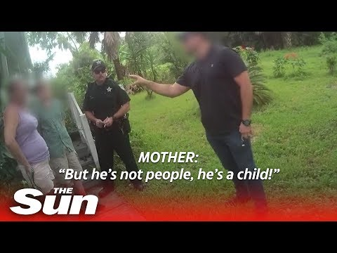 Michael J. - Mom begs officers not to arrest her 15 year old after he made threats