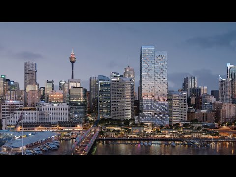 New Tower Set to Redefine Sydney's Waterfront | The B1M