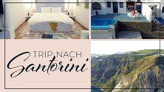 Reise nach Santorini (VLOG #3)