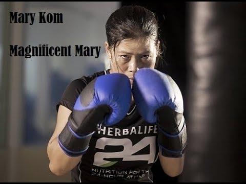 Sports: Commonwealth 2018 champion : Boxing womens 45 - 48 kg : MC Mary Kom