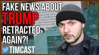 FAKE NEWS ABOUT TRUMP RETRACTED AGAIN?!