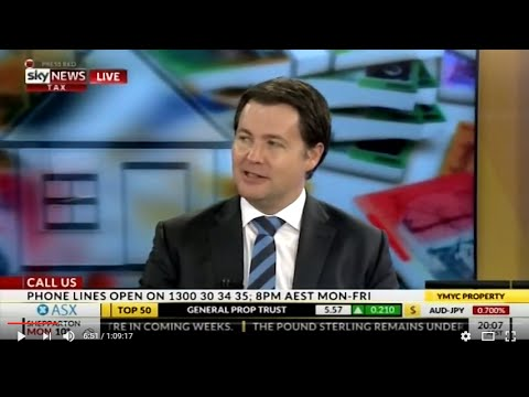 BMT Tax Depreciation on Sky News Business Your Money Your Call –04/07/2016