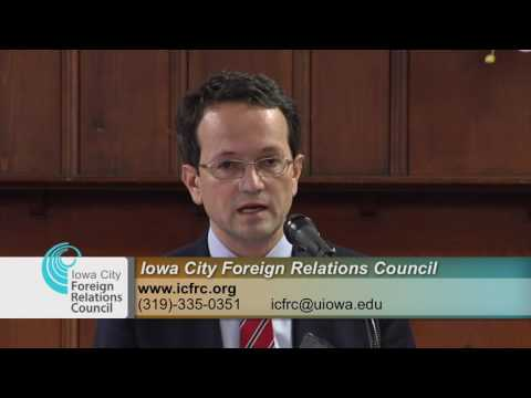 Iowa City Foreign Relations Council Presents: U.S. - Kosovo Relations
