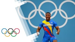 Oscar Albeiro Figueroa Mosquera Breaks Olympic Weightlifting Record - London 2012 Olympics