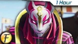 [1 Hour] Fortnite Rap Song - Like a Ninja | (Season 5 Battle Royale) by FabvL