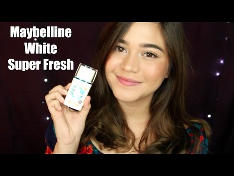 Maybelline White Super Fresh - review & tutorial | SarahAyu