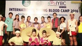 ĐH VĂN HÓA TP.HCM THAM DỰ  INTERNATIONAL YOUNG BLOOD CAMP 2016 TẠI THÁI LAN