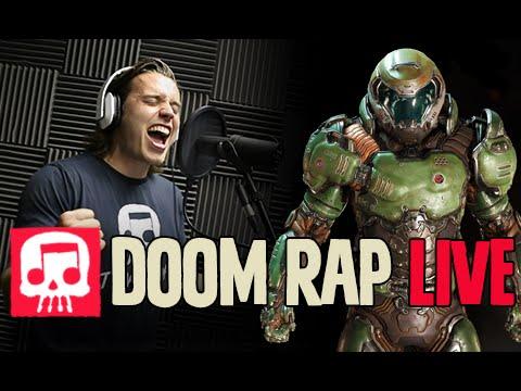 "DOOM Rap LIVE by JT Machinima - ""Fight Like Hell"""