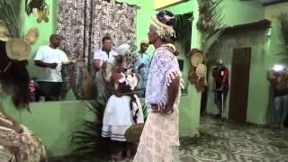 Saída Iaô - Ritual de iniciação Candomblé - Ponta Porã - MS