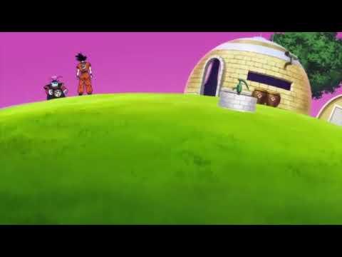 Goku Vs Beerus In King Kai's Planet
