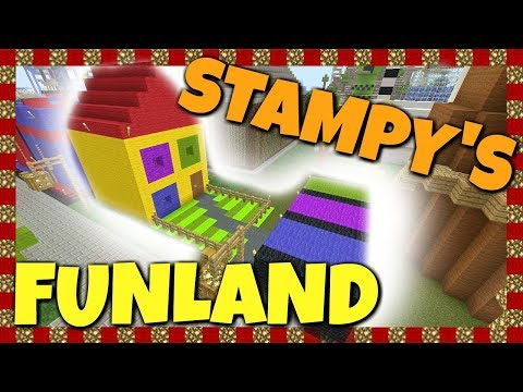 Stampy's Funland - Snow Throw