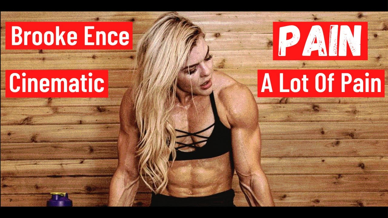 Brooke Ence   Pain, A Lot Of Pain   Talks About Her Injuries   Determined to Succeed at all costs