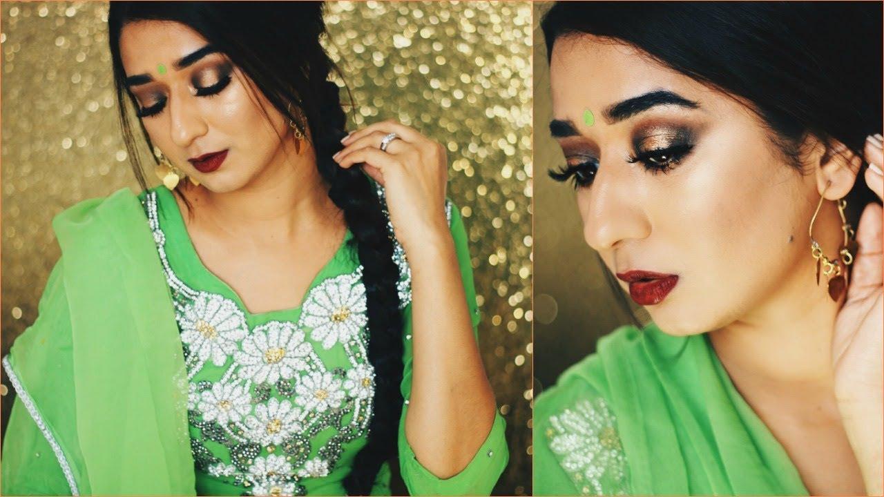 how to wear paranda || hair tutorial || indian wedding festival season ||  brownbeautysimor