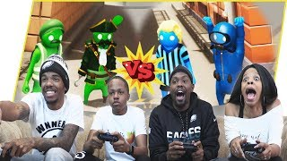 team Beatdown! Who's The Best Gang Beasts Duo?! - Gang Beast Gameplay