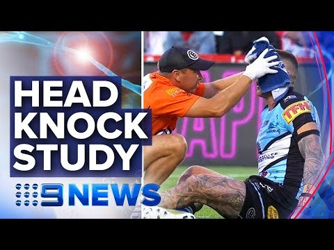 NRL invests in concussion and brain health research | Nine News Australia thumbnail