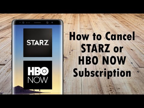 How To Cancel Starz Or HBO NOW Subscription On An Android Phone