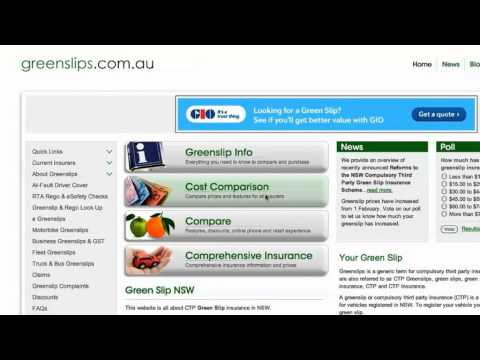 How to Compare Green Slips & Find Cheapest Quote - greenslips.com.au