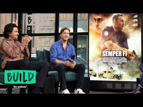 "Nat Wolff & Director Henry-Alex Rubin On Filming The Movie, ""Semper Fi"""