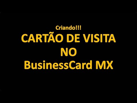 Business cards mx criando carto de visita profissional most business cards mx criando carto de visita profissional most popular videos reheart Images