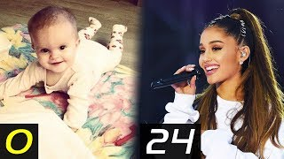 ARIANA GRANDE Transformation - From 0 To 24 Years | Then and Now | Childhood | Before famous | After