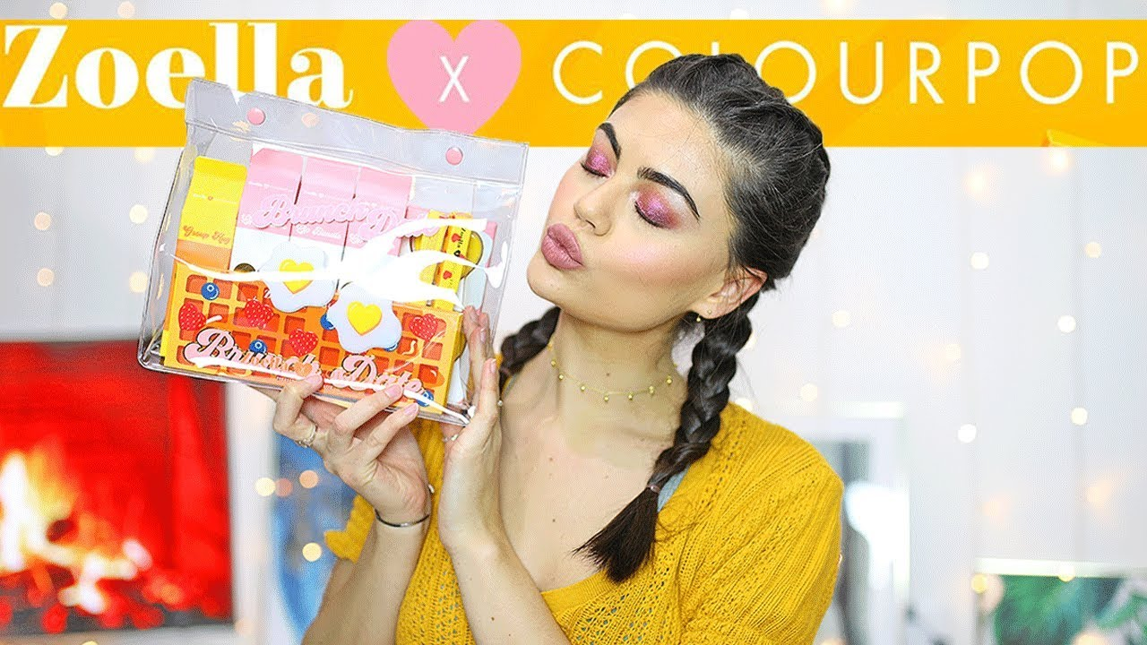 Testing Zoella X Colourpop Brunch Date